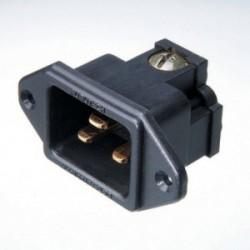 Furutech 16A 250V / 20A 125V AC Inlet / Nylon body, FI-33(G)