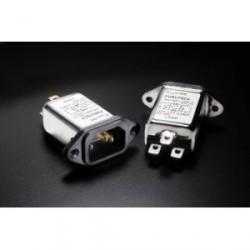 Furutech 115V/250V 10A 50/60Hz EMI Filter IEC Inlet, AC-1001(G)