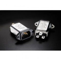 Furutech 115V/250V 10A 50/60Hz EMI Filter IEC Inlet, AC-1001(R)