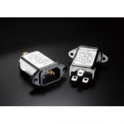 Furutech 115V/250V 15A 50/60Hz EMI Filter IEC Inlet, AC-1501(G)