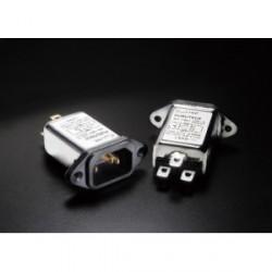 Furutech 115V/250V 15A 50/60Hz EMI Filter IEC Inlet, AC-1501(R)