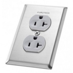 Furutech New Improved Cover Plate for Duplex receptacles, Outlet cover 102-D