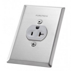 Furutech New Improved Cover Plate for Single receptacles, Outlet cover 102-S