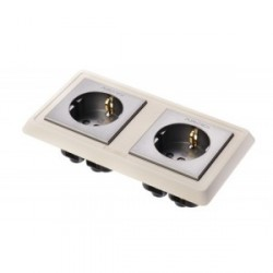 Furutech High Performance Duplex SCHUKO Wall Sockets 16A250V, FP-SWS-D(R)