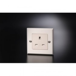Furutech Hi Performance UK BSI Single Wall Sockets 13A 250V, FP-1363-S(R)