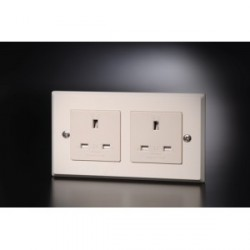 Furutech Hi Performance UK BSI Duplex Wall Sockets 13A 250V, FP-1363-D(R)