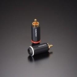 Furutech PCOCC Central PIN RCA Connector 7.3mm (Bulk), FP-126(G)