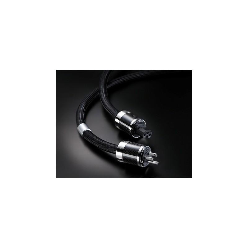 Furutech Power Cord (1 8mx1) FI-50M(R )+FI-50(R ) 15A/15A 125V,  Powerflux-18US - Fidelity Components Shop