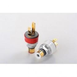 Furutech High End Performance RCA socket - Rhodium plated (2pcs/set), FT-903(R)