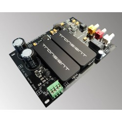 Metrum EVA evaluation DAC module with DAC-TWO-192 Transient R2R