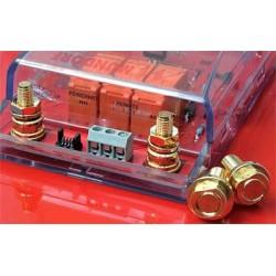 Circuit board bolts 8 mm, brass