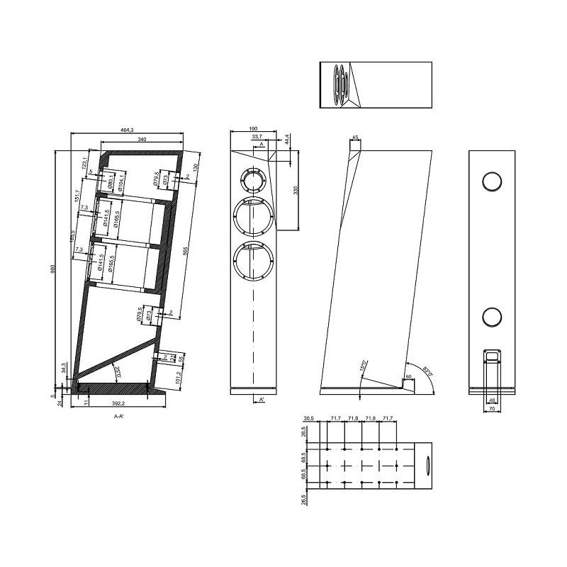 sb acoustics rinjani diy speaker kit