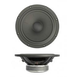 "SB Acoustics 8"" mid/woofer 45mm vc NAC Alu Cone BLACK, SB23NBACS45-4"