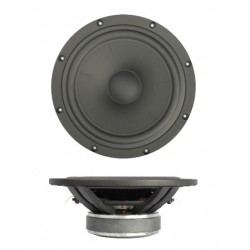 "SB Acoustics 8"" mid/woofer 45mm vc NAC Alu Cone BLACK, SB23NBACS45-8"