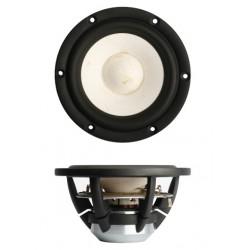 "SB Acoustics 5"" Satori midwoofer Natural White , MW13PNW-8"