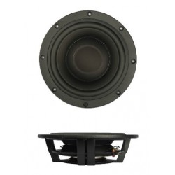 "SB Acoustics 10"" subwoofer shallow , BLACK alu cone, SW26DBAC76-4"