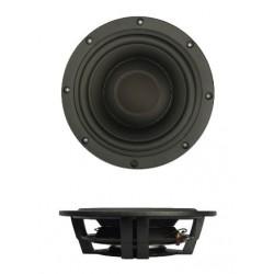 "SB Acoustics 10""subwoofer shallow, BLACK alu cone, SW26DBAC76-8"