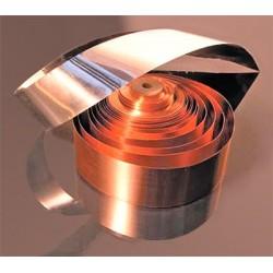 Silver/Gold foil Mundorf M-Connect CF FAGAU28, cross-section 2.10 mm2