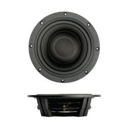 "SB Acoustics 10"" subwoofer shallow, dual coil, black , SW26DBAC76-3-DV"