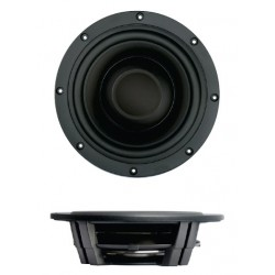 SB Acoustics PASSIVE RADIATOR Shallow Black, SW26DBAC-00