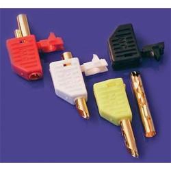 Mundorf MConnect Banana plugs, Beryllium-copper, gold plated, yellow