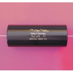 Capacitor MKP Mundorf MCap Supreme silver/gold 1200 VDC 0.001 uF