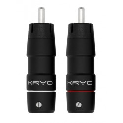ETI Research Kryo RCA Connector red/white