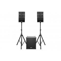 EarthquakeSound DJ-QUAKE2.1 Powered 2.1 Pro DJ Array speaker system