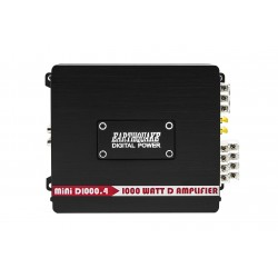 EarthquakeSound MiNi-D1000.4 4-Channel Full Range Amplifier