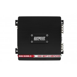 EarthquakeSound MiNi-D1500.2 Stereo Full Range Amplifier
