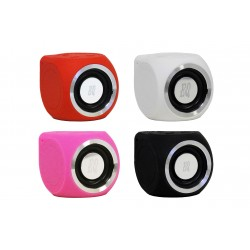 EarthquakeSound EQUATIC wireless & water resistant micro-speaker RED