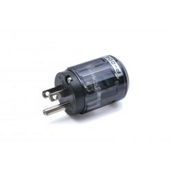 Oyaide SCHUKO Power plug (platinum/palladium plating) P-004e