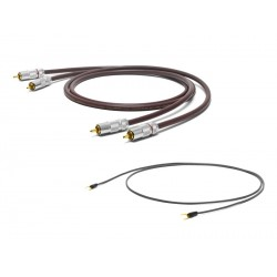 Oyaide RCA-RCA Phono cable w/ground cable for MM cartridge PH-01RR 1.0m