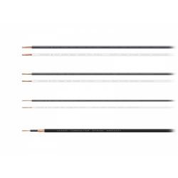 Oyaide Hookup Wire (AWG18) Black 3398-18 BK, 1m