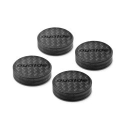 Oyaide Carbon Insulator 4pcs set INS-CFX