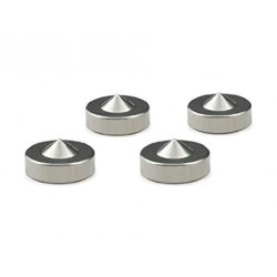 Oyaide Stainless-steel Insulator 4pcs set INS-US