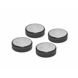 Oyaide Hematite(Black Diamond) Insulator 4pcs set INS-BD