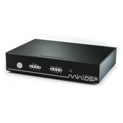 MiniDSP nanoAVR HD 2-input HDMI audio and video switch