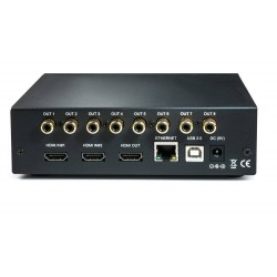 MiniDSP nanoAVR HAD 2-input HDMI audio and video switch