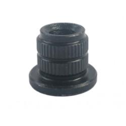 Jantzen Audio T-Nut Socket – M6. ø10 mm / Height: 12 mm, 014-0035