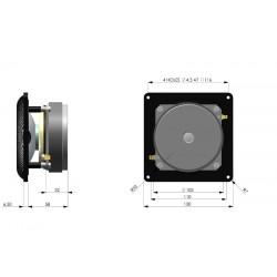 Accuton ceramic CELL concept midrange, C90-6-079