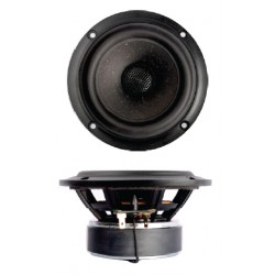 "SB Acoustics 4"" mid/woofer, 25mm VC, Coaxial PFCR, SB12PFCR25-4-Coax Round basket"