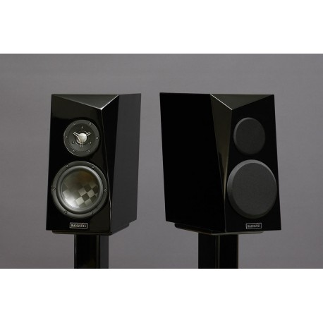 SB Acoustics ARA Beryllium dome Textreme Light Edition - FineTuning by StereoArt, Black High Gloss