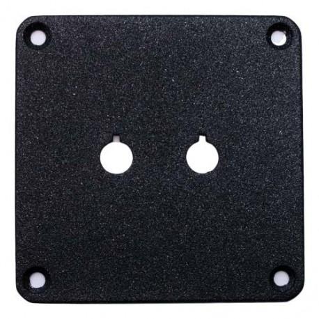 Jantzen Audio Binding Post Plate Black, 012-0101