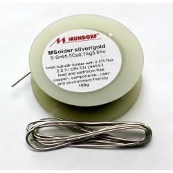 Припой Mundorf M-Solder Silver/Gold 1м