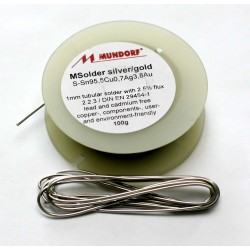Solder Mundorf M-Solder Silver/Gold 1m