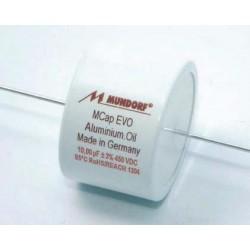 Capacitor MKP Mundorf MCap EVO Oil axial 450 VDC 0,22 uF