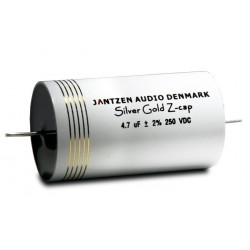Capacitor Jantzen Silver Gold Z-Cap MPP 800 VDC 0,47 uF