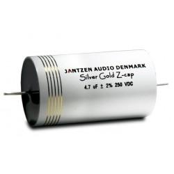 Capacitor Jantzen Silver Gold Z-Cap MPP 250 VDC 3,3 uF