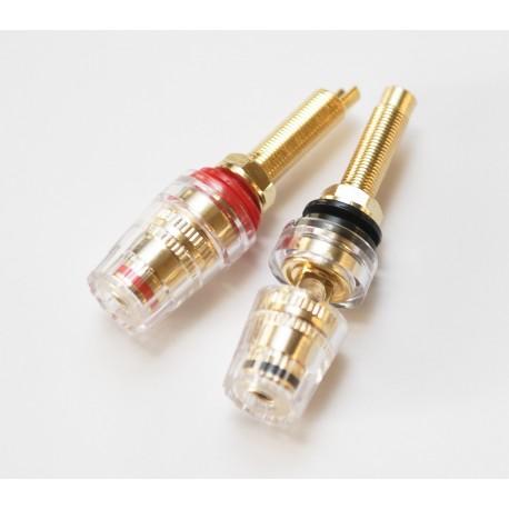 Jantzen Binding Posts M8 520D Gold, пара